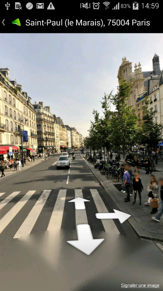 Android StreetView-like 360 panorama with OpenGl