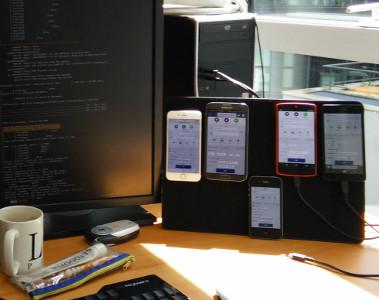 """Mur de """"devices"""""""